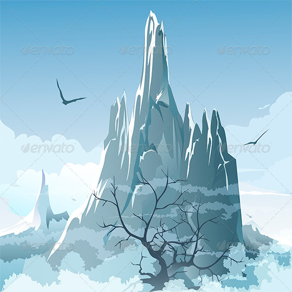The Mountains - Landscapes Nature
