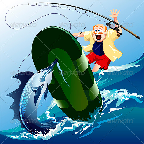 Swordfish Attack - Sports/Activity Conceptual