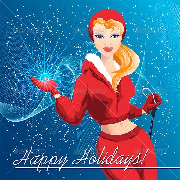 Snowflake - New Year Seasons/Holidays