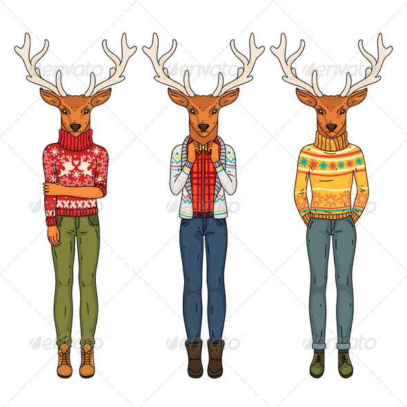 Fashion Deers - Miscellaneous Characters