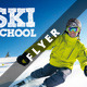 Ski School Flyer - GraphicRiver Item for Sale