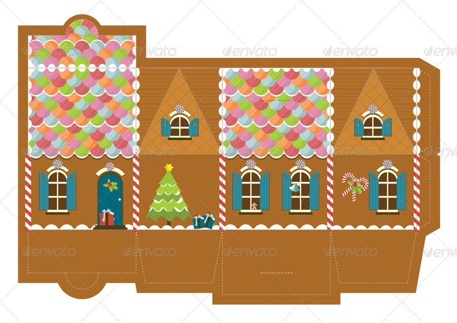 Gingerbread log cabin template costumepartyrun exelent fancy gingerbread house templates ornament maxwellsz
