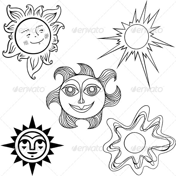 The Suns - Decorative Symbols Decorative