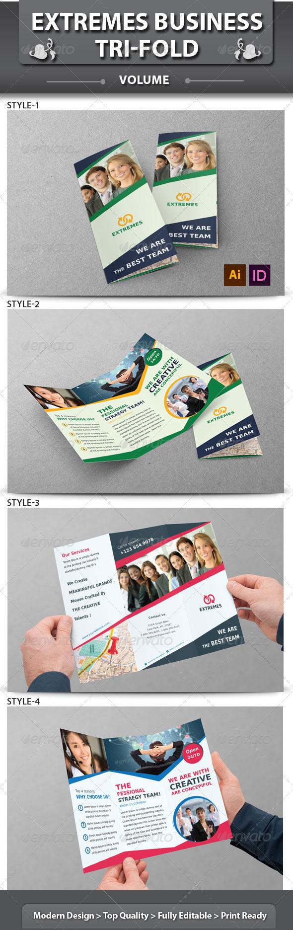 Corporate Business Tri-fold Brochure | Volume 3 - Corporate Brochures