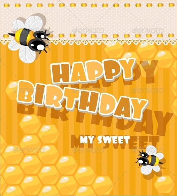 Happy Birthday to My Sweet Card - Birthdays Seasons/Holidays