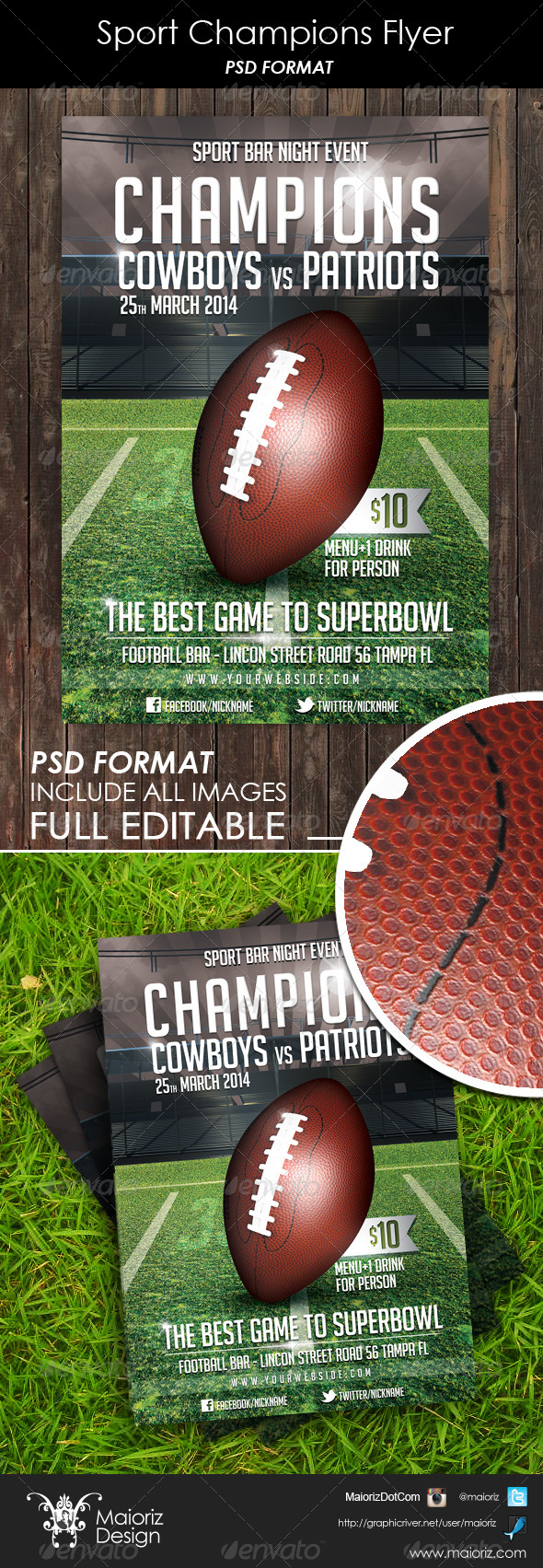 Sport Champions Flyer - Sports Events