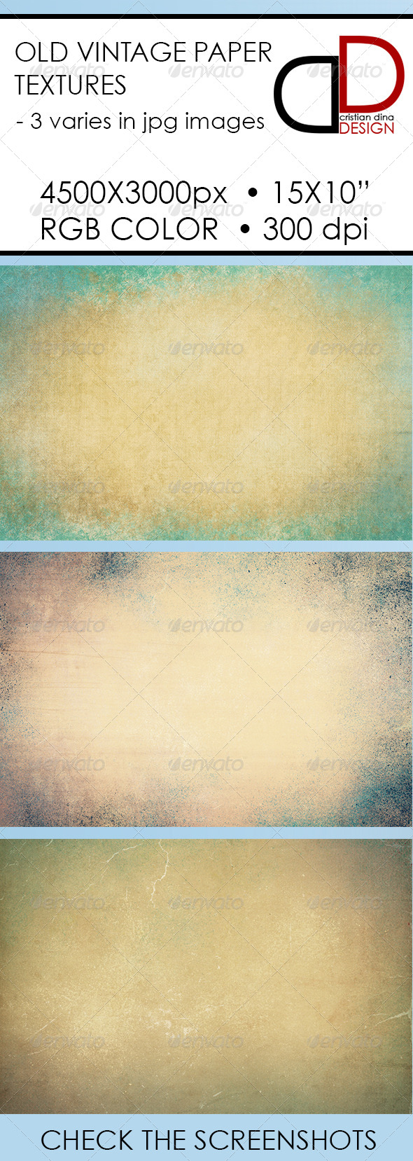 Old Vintage Paper Texture - Abstract Backgrounds