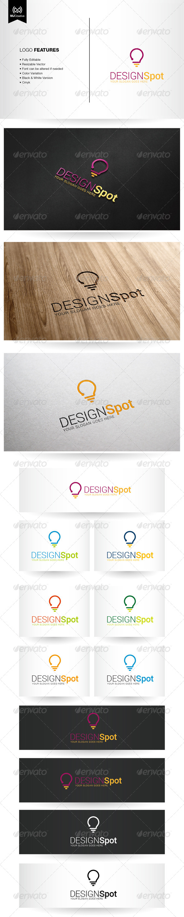 Question and Idea Logo - Vector Abstract