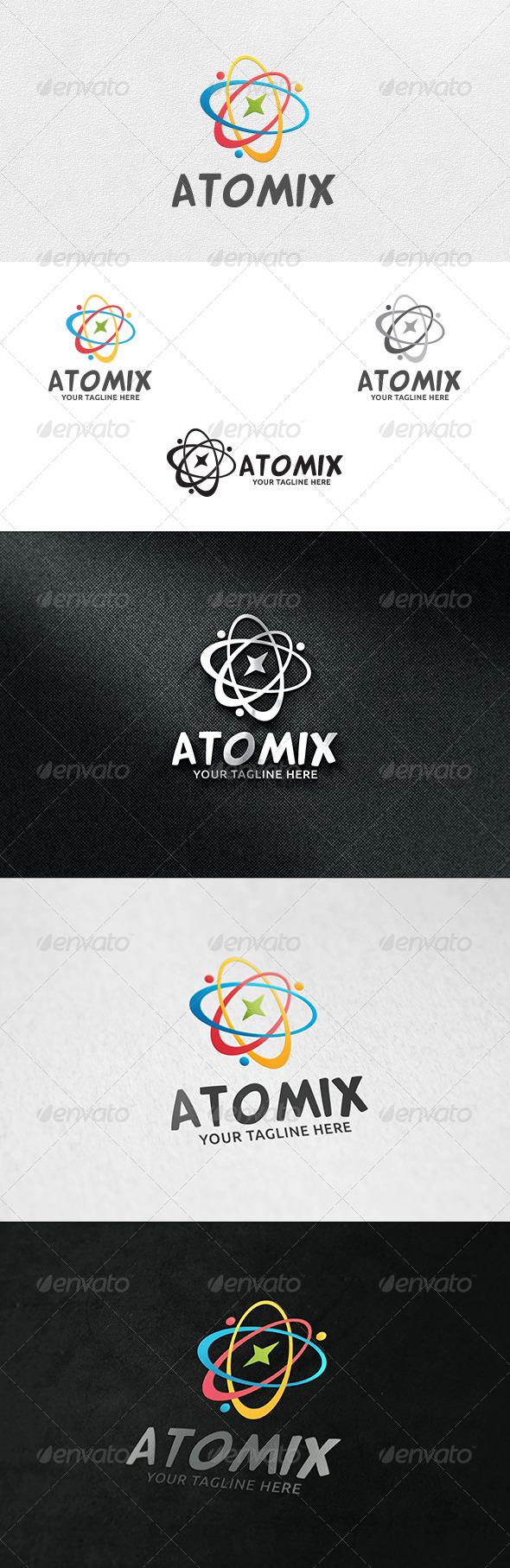 Atomix - Logo Template  - Symbols Logo Templates
