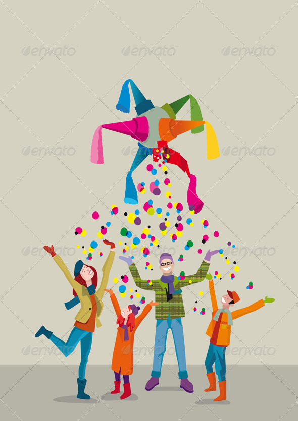 Family Christmas - Christmas Seasons/Holidays
