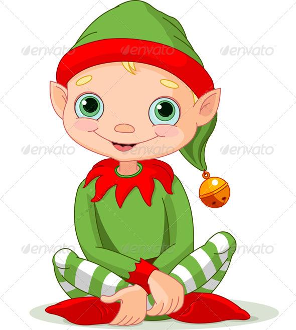 Christmas Elf  - Christmas Seasons/Holidays