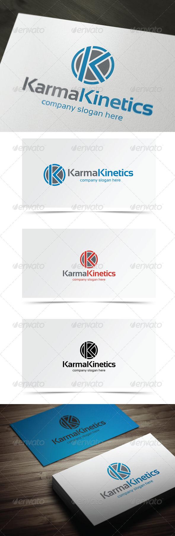 Karma Kinetics - Letters Logo Templates