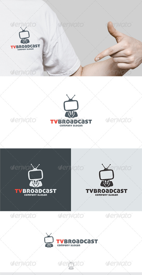 TV Broadcast Logo - Humans Logo Templates