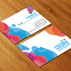 Colorful Business Card AN0102 - GraphicRiver Item for Sale
