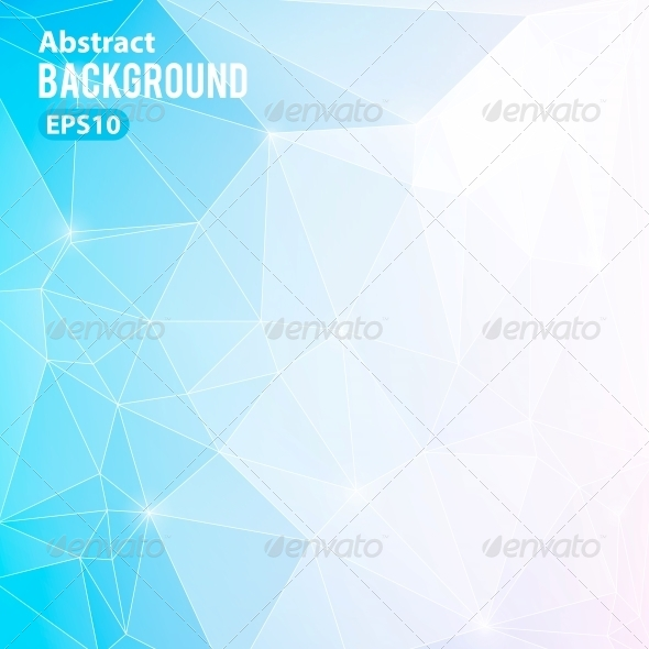 Abstract Geometric Background Template - Abstract Conceptual