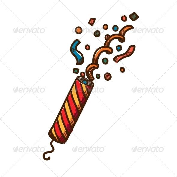 Slapstick with Confetti - Christmas Seasons/Holidays