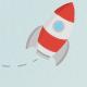 Rocket Launch - Under Construction Theme - GraphicRiver Item for Sale