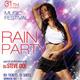 Rain Party Flyer - GraphicRiver Item for Sale
