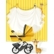 Baby Shower Yellow Card - GraphicRiver Item for Sale