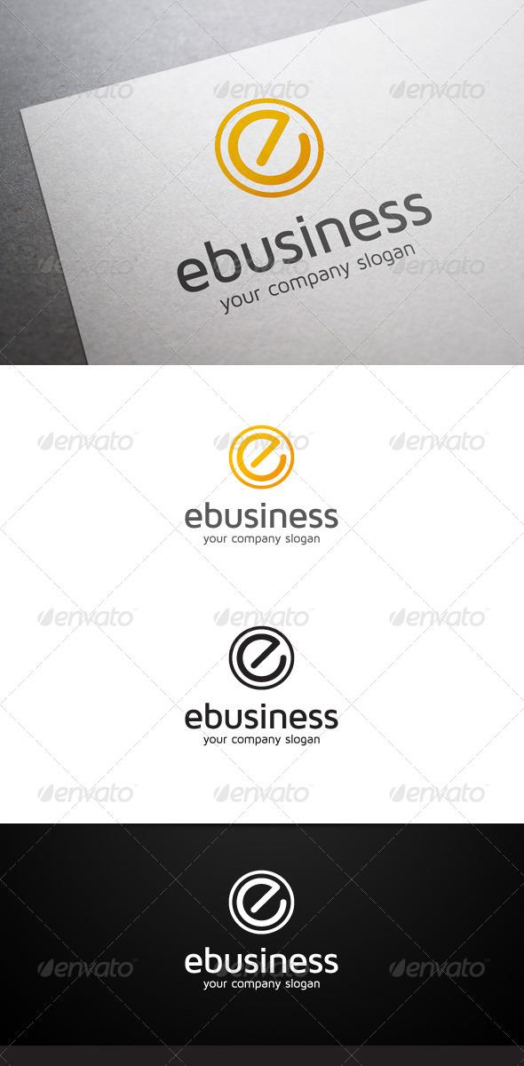 E Business Logo - Letters Logo Templates
