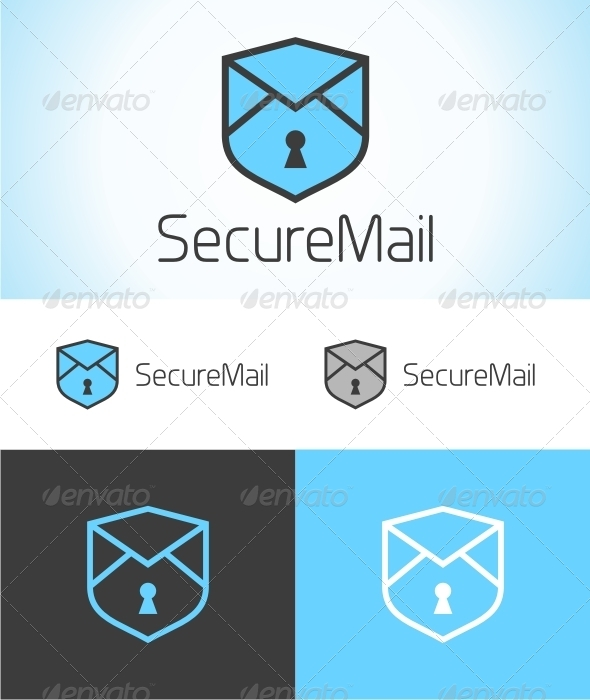 Secure Mail Logo - Objects Logo Templates