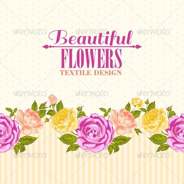 Rose Frame Invitation Card. - Flowers & Plants Nature