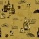 Download Vector Wine Still Life Monochrome
