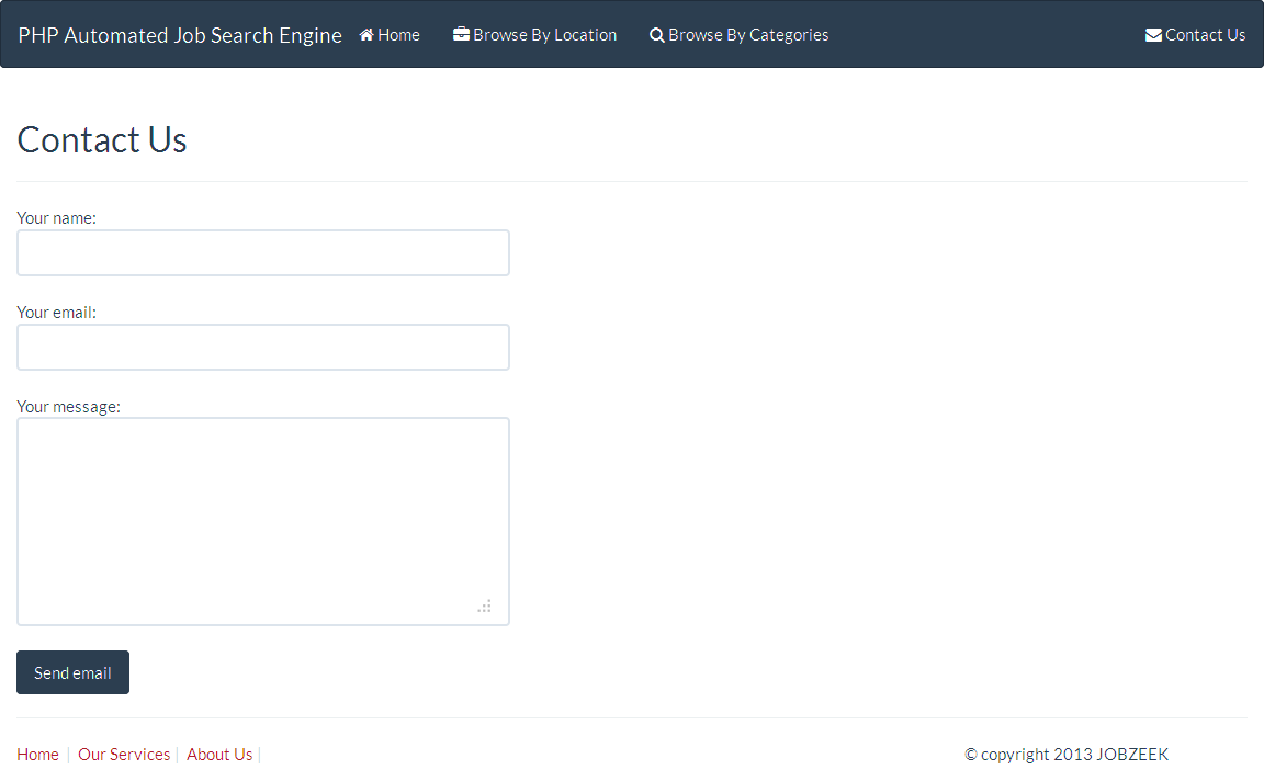 CodeCanyon - Automated Job Search Engine Script v6.1 ...