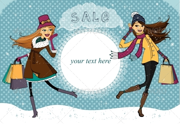 Winter Holiday Shopping Promo - Retail Commercial / Shopping