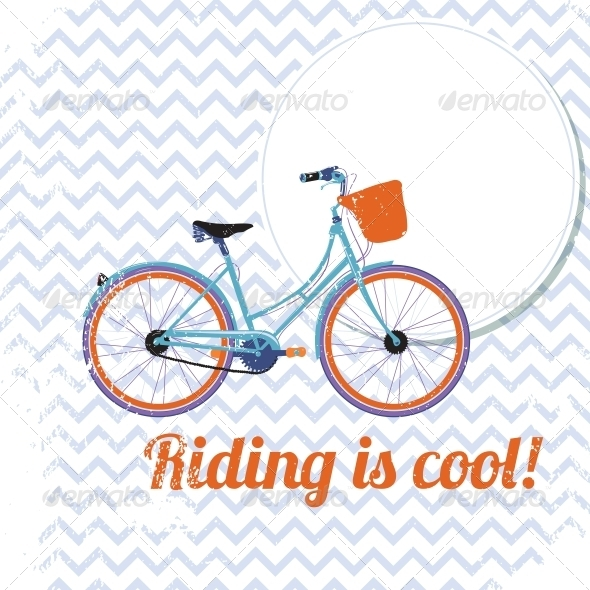 Riding is Cool - Travel Conceptual