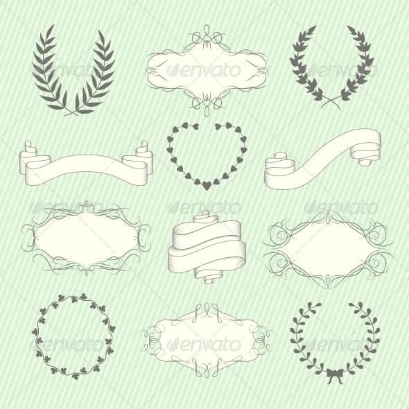 Wedding Elements Set - Weddings Seasons/Holidays