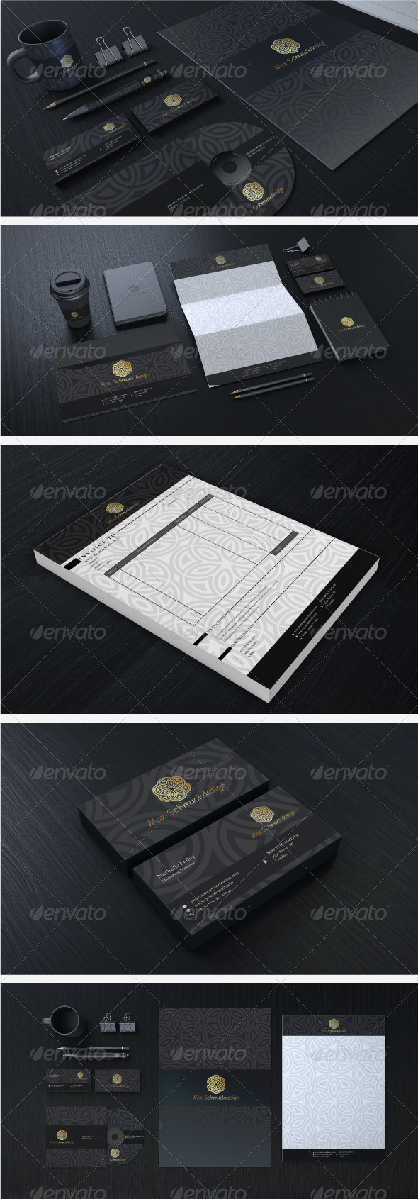 Creative Corporate Identity 08 - Stationery Print Templates