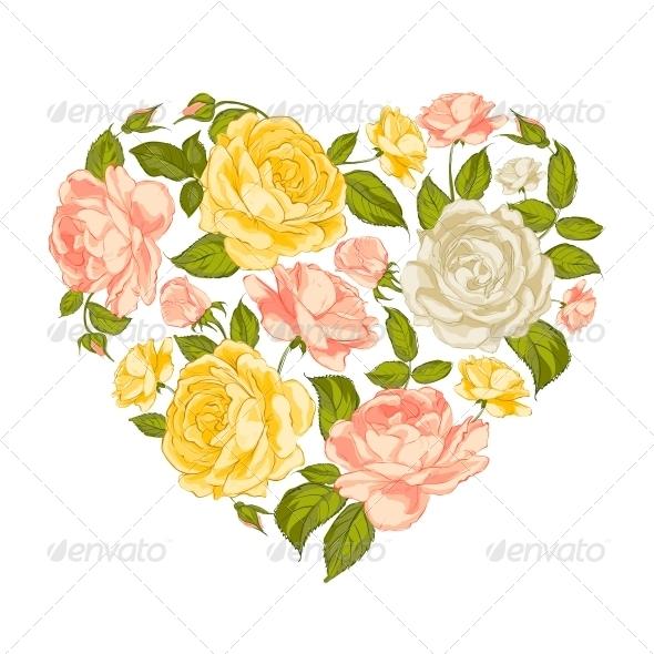 Valentine Heart Symbol. - Valentines Seasons/Holidays