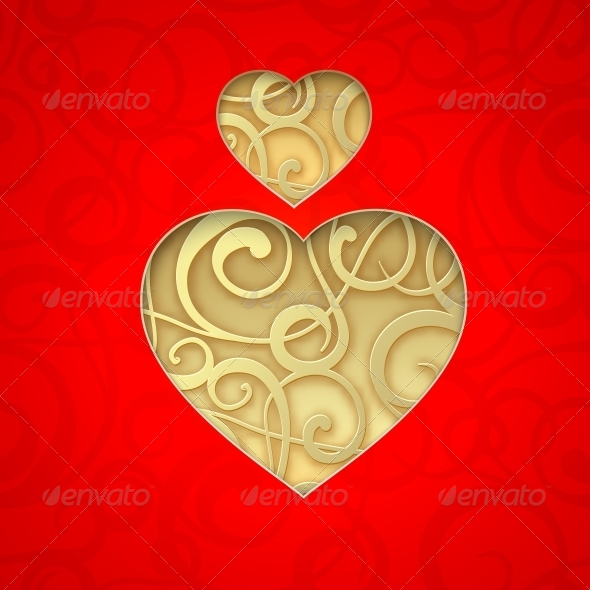 Vector Heart Symbol. - Valentines Seasons/Holidays