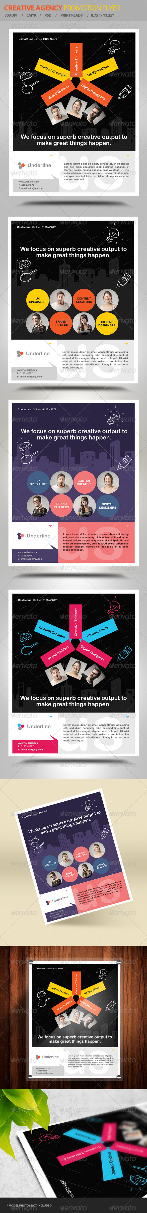 Creative Design Agency Flyer Vol2  - Corporate Flyers