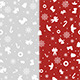 Simple Christmas Patterns - GraphicRiver Item for Sale