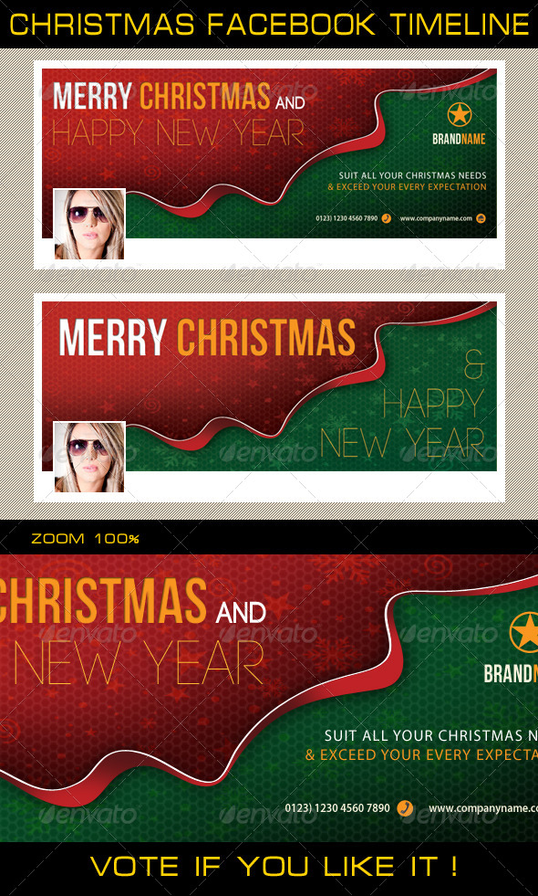 Christmas Holidays Facebook Timeline - Facebook Timeline Covers Social Media