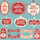 Christmas Labels and Ribbons - GraphicRiver Item for Sale