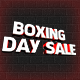 Boxing Day Sale, 3D Render - GraphicRiver Item for Sale