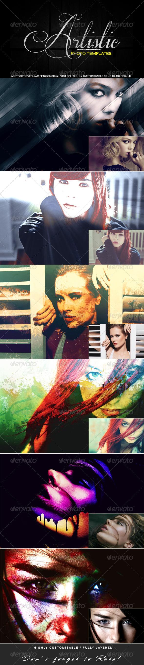 Artistic Photo Templates - Artistic Photo Templates
