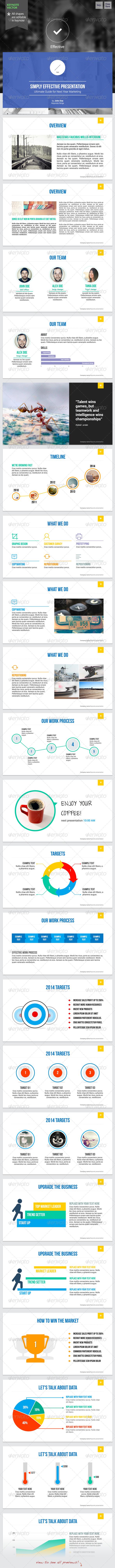 Effective - Keynote Template - Keynote Templates Presentation Templates