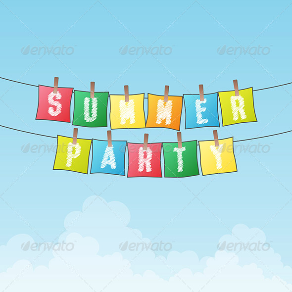 Summer Party - Backgrounds Decorative