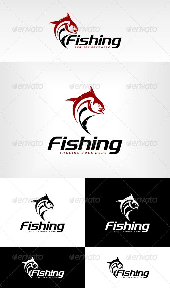 Fishing Logo Template - Animals Logo Templates