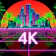 Retrowave Palms 4K - VideoHive Item for Sale