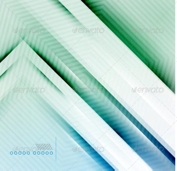 Blur Lines Geometric Shape Background - Backgrounds Business