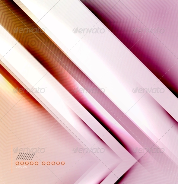 Blur Lines Geometric Shape Background - Backgrounds Business