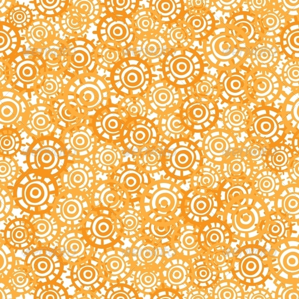 Abstract Orange Seamless Texture - Backgrounds Decorative