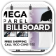 Omega Apparel Billboards With T-shirt Previews - GraphicRiver Item for Sale