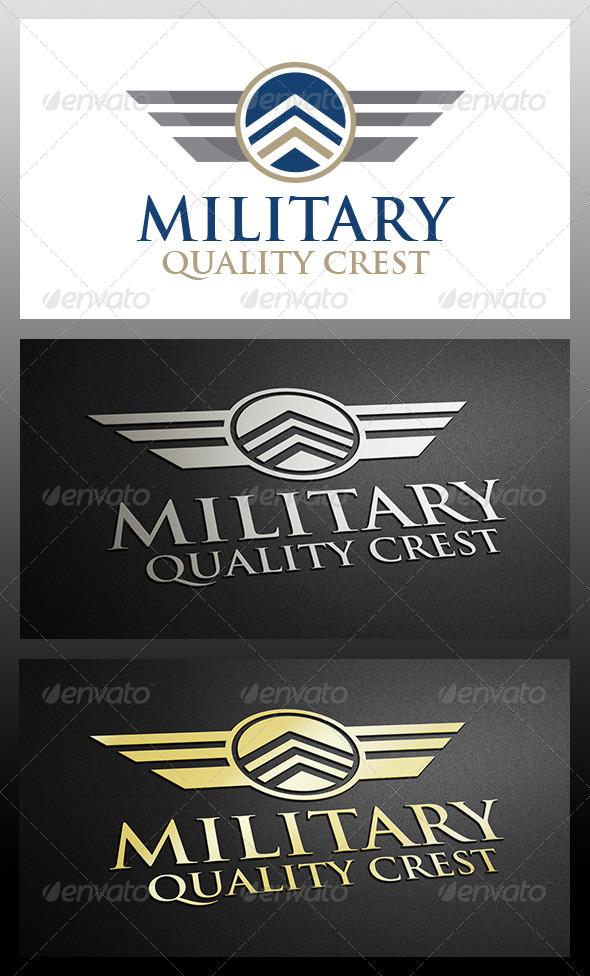 Militar Logo - Crests Logo Templates