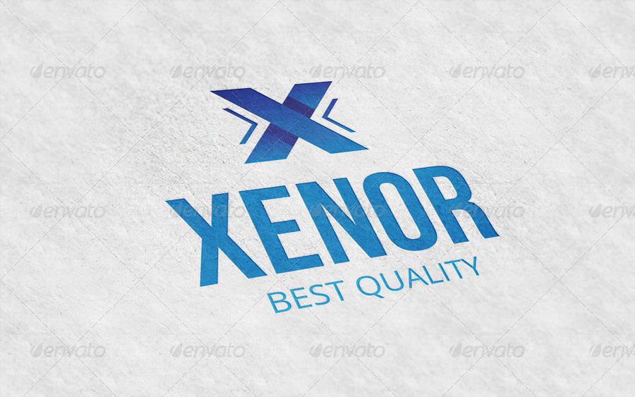 Xenor Letter X Logo Template